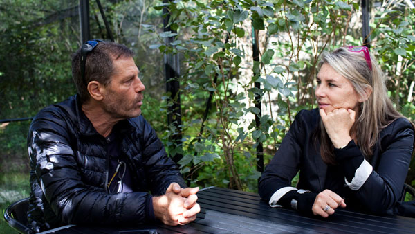 Ohad Naharin and Pia Forsgren converses